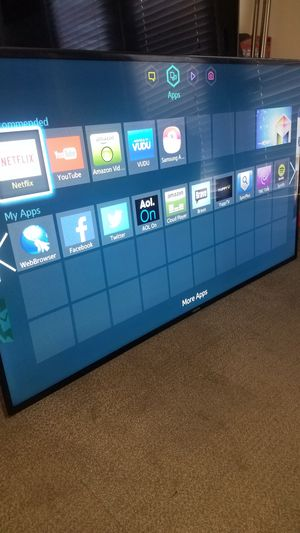 "60""Samsung Led Smart TV wi-fi HD 1080p clear motion 120hz slim model UN60F6300 for Sale in San Jose, CA"