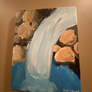 Perfect Hand Painted Waterfall for Sale in Bristow, VA