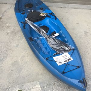 New - 2021 Lifetime Fishing Kayak for Sale in Tampa, FL