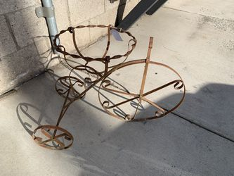 Iron bike pot holder for Sale in Bend,  OR