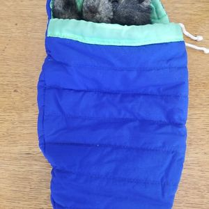 RARE Folkmanis Baby Bear Cub in Sleeping Bag Hand Puppet Plush Stuffed Animal for Sale in Queen Creek, AZ