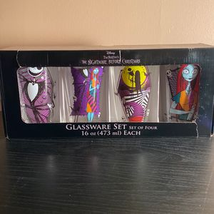 The Nightmare Before Christmas Glassware Set for Sale in Chicago, IL