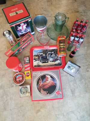 Large lot of coca cola items for Sale in Springfield, OR