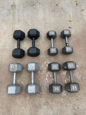 4 sets of dumbbells 💪 🏋️‍♀️ for Sale in Miami, FL