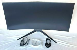 Alienware aw3418dw 34 curved gaming monitor 120hz **READ** for Sale in Escondido, CA