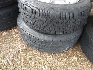 17. 16. N 20 inch tires all good condition some almost new for Sale in Evergreen, CO