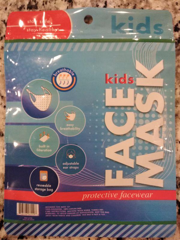 NEW Kids Face Mask - Protective Facewear