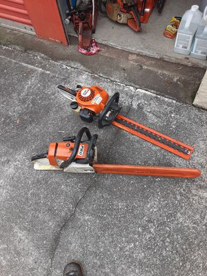 Sthil chainsaw an trimmer for Sale in Stone Mountain, GA