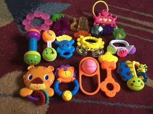 Baby toys bundel 14 piece for Sale in Baltimore, MD