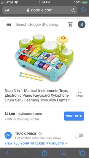 Fisca Electric Xylophone & Drum for Sale in Shelton, CT