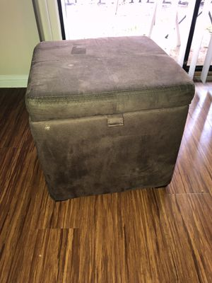 Foot stool with storage for Sale in Austin, TX