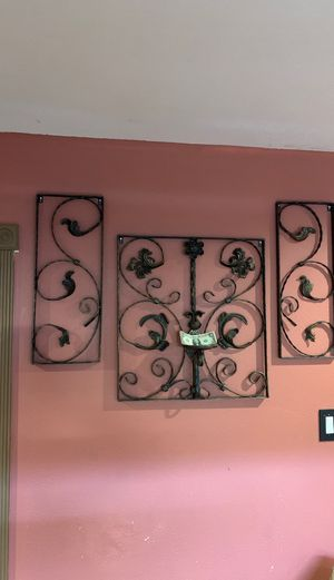 Solid iron decor for your home candle holder for Sale in San Antonio, TX
