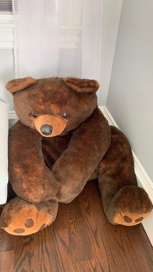 Life sized teddy bear for Sale in Newton, MA
