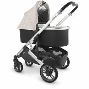 UPPAbaby BASSINET for Vista / Cruz stroller - Silver/Gray baby carrier for Sale in Fort Lauderdale, FL