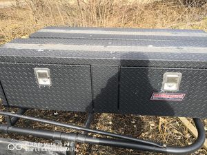 8ft ladder rack and tool boxes for Sale in North Lewisburg, OH
