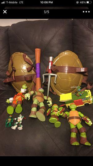 Ninja turtle set for Sale in Fresno, CA