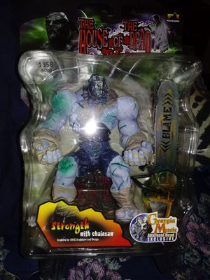 The house of the dead strength figure on card for Sale in Davenport, IA