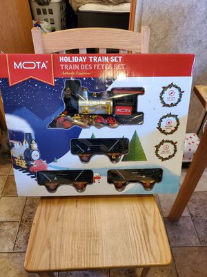 Holiday train set for Sale in Midland, TX