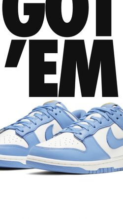 "Nike Dunk Low ""Coast"" Size 9w for Sale in Seal Beach,  CA"