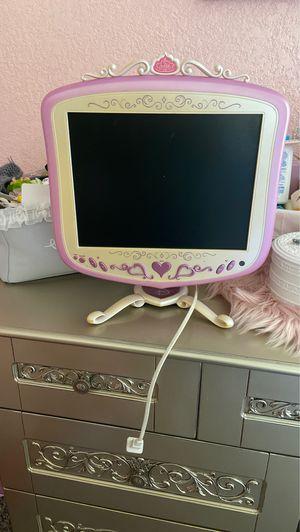 Disney princess pink flat screen tv for Sale in San Antonio, TX