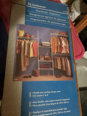 Closet organizer for Sale in Sacramento, CA