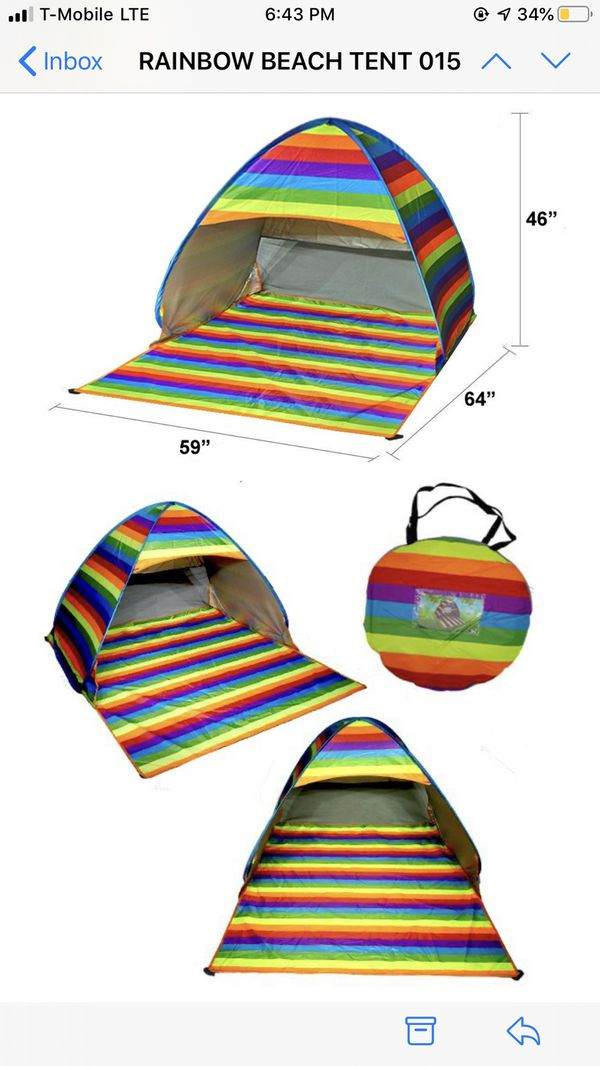 Camping or Beach Tents ready to use