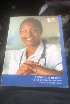 Medical assisting student handbook third edition Corinthian colleges for Sale in Laurel, MD