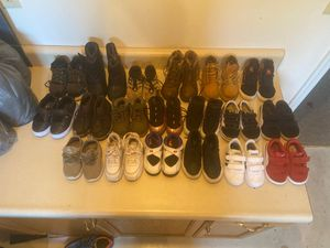 Toddlers shoes , Nike , jordan , Vans , adidas Timberland and more . Sizes 6-10C for Sale in Gaithersburg, MD