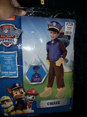 Kids Paw Patrol Chase Costume for Sale in Inglewood, CA