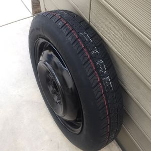 NEW Toyota Corolla Spare Tire.. Firestone brand tire.. measures T135/80R16 for Sale in Rancho Cucamonga, CA