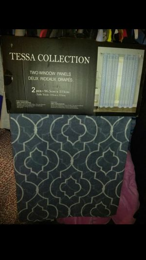 Tessa Collection window panels for Sale in Riverside, CA