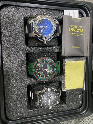 INVICTA STAR WAR WATCHES WITH BOX for Sale in Los Angeles, CA