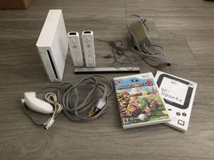 Wii + Wii Sports, Mario Party 8, 2 Controls, 1 Joystick for Sale in Austin, TX