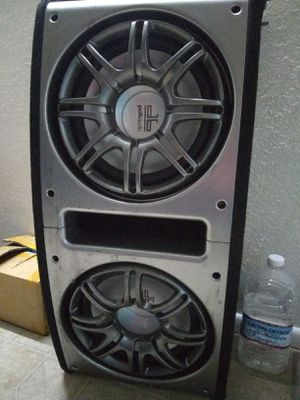 12s polk audio with original ported box for Sale in Chandler, AZ