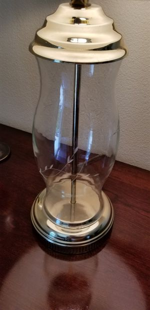 VINTAGE-PRINCESS HOUSE- CRYSTAL LAMP WITH SHADE! for Sale in Rancho Cucamonga, CA