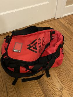 North Face Waterproof Duffel W Backstraps for Sale in Seattle,  WA