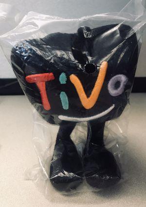 "Tivo Plush Mascot Stuffed TV Television Character Promo Black Logo 9"" Soft Toy for Sale in Glendale, AZ"