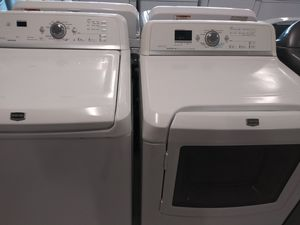 Maytag wascher and electric drayer good condition 90 days warranty for Sale in Mount Rainier, MD