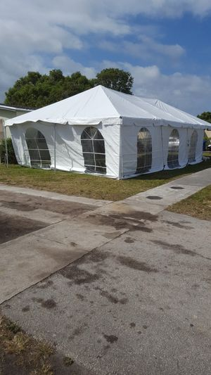 Affordable 20×40 expandable TENT for Sale in Miramar, FL