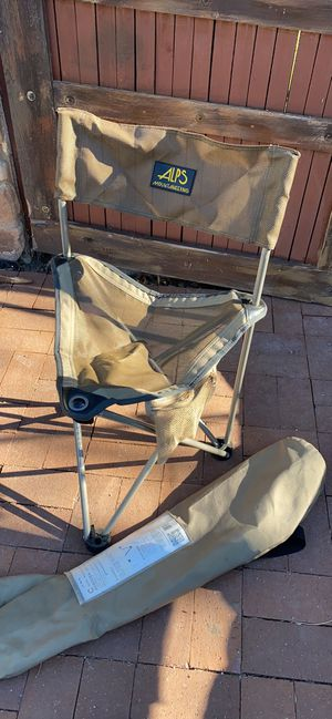 Out door camping backpack chair for Sale in Salt Lake City, UT