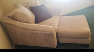 Oversized sofa chair with ottoman for Sale in Paradise Valley, AZ