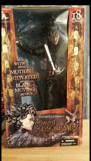 Edward Scissorhands w/ blade moving action for Sale in Hillsboro, OR