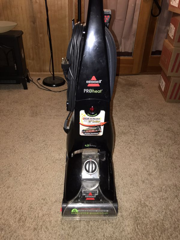 Bissell ProHeat carpet cleaner.