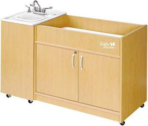 Baby changing station with built in sink and stairs for Sale in Alamo, CA