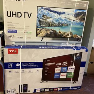 "65"" TCL Roku Smart 4K UHD Tv for Sale in Lake Elsinore, CA"