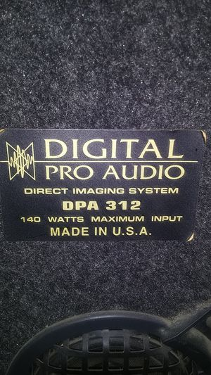 Digital Pro Audio Direct Imaging system for Sale in West Covina, CA