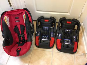 Britax B Safe 35 Car seat and 2 bases for Sale in Irving, TX