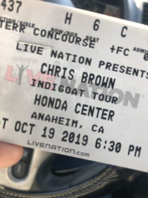 Chris Brown Tickets for Sale in Redlands, CA