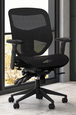 NEW HON HVL536 Prominent Armrest Height Asynchronous Tilt Control Backrest Office Computer High Back Ergonomic Task Mesh Chair Full Adjustable lumbar for Sale in Covina,  CA