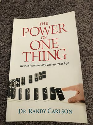 The power of one thing BOOK for Sale in Fresno, CA